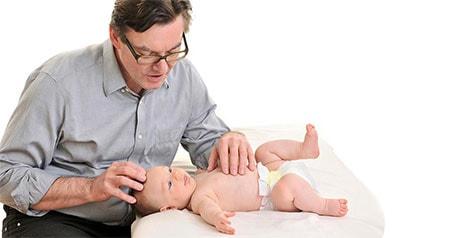 Osteopathie-Babys