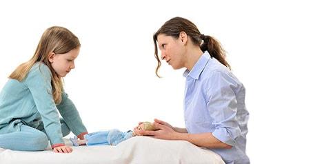Osteopathie-Kinder